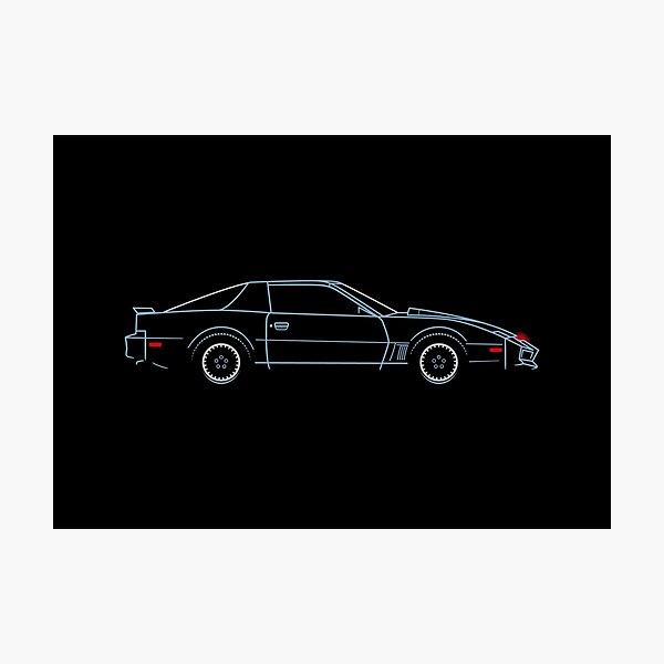 Knight Rider KITT Movie Car Photographic Print