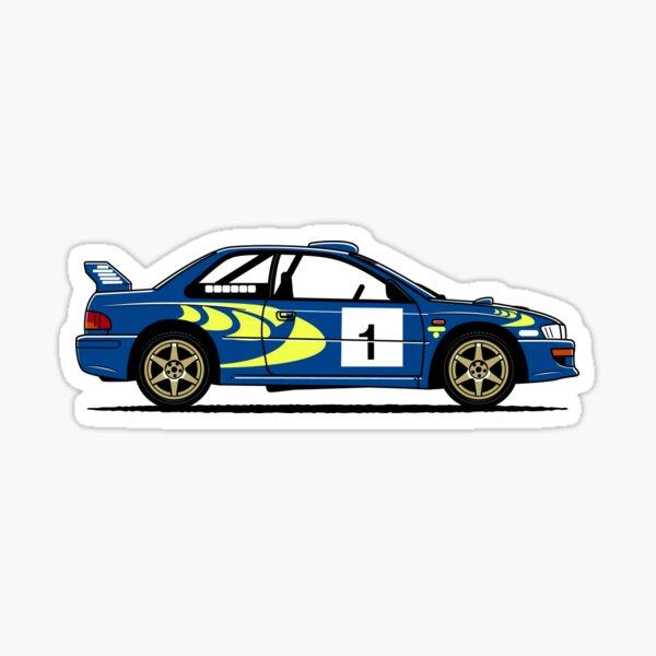 Impreza WRC Rally Car Pegatina