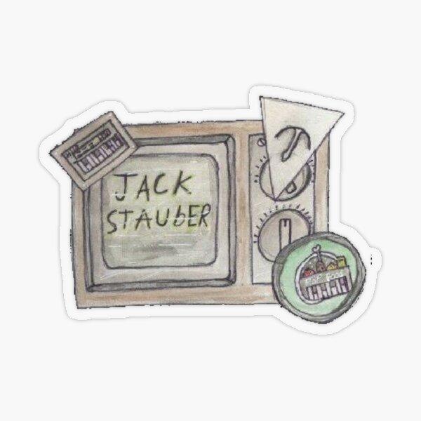 Jack Stauber Transparent Sticker