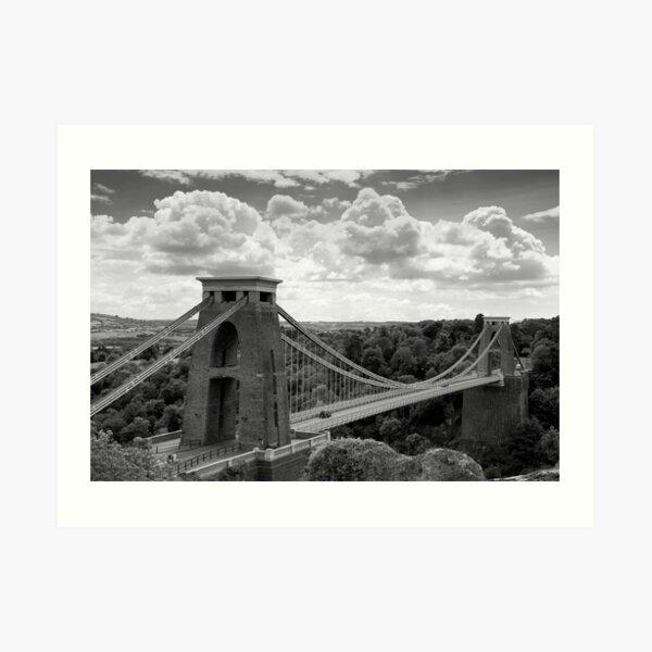 The Clifton Suspension Bridge  Art Print
