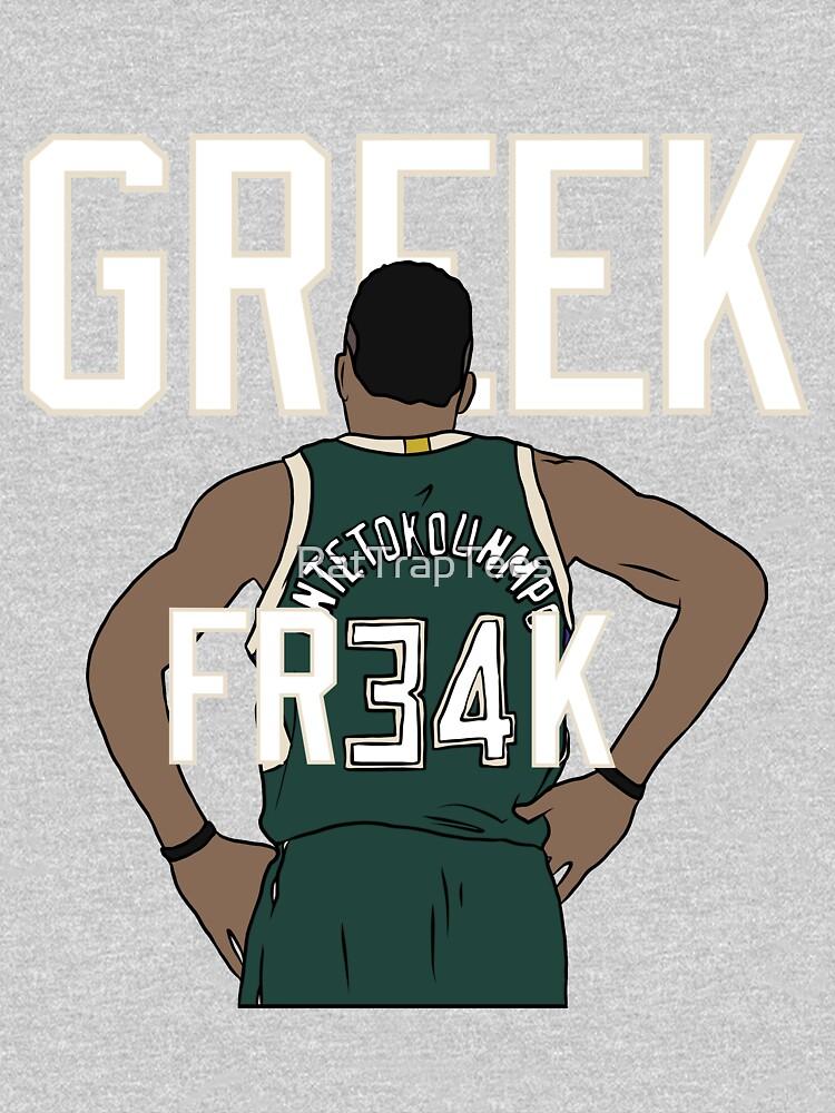 GREEK FR34K by RatTrapTees