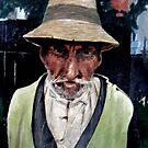 My old gardener by JamesBryan