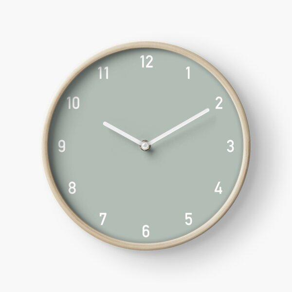 Clock numbers ash Clock