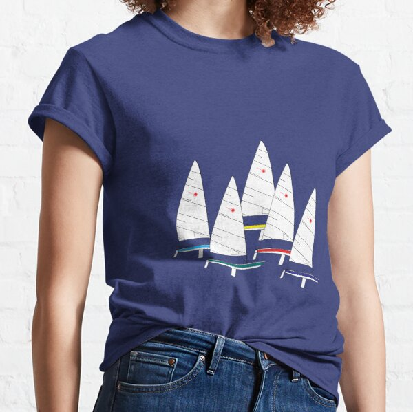 Laser Sailboats Racing Classic T-Shirt