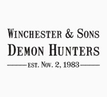 Winchester and Sons est. 1983