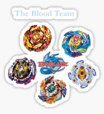 The Blood Team Sticker