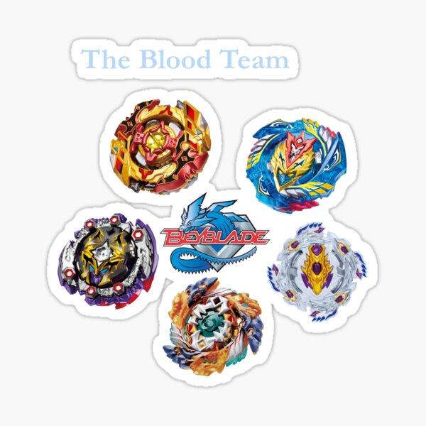 Das Blut-Team Sticker