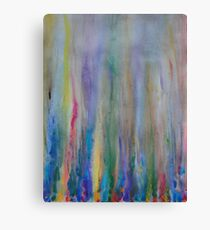 Water venting through Volcanic Minerals Canvas Print