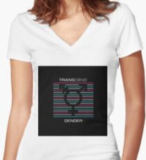 Transcend Gender Fitted V-Neck T-Shirt