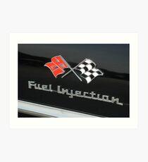 Fuel Injection Art Print