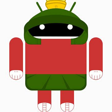 Marvin The Droid by Bitedaily