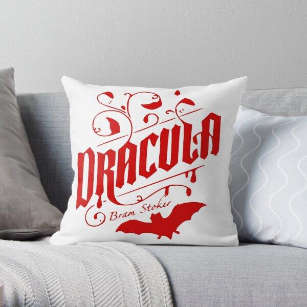 Dracula - Bram Stoker Throw Pillow