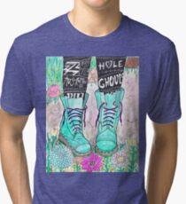 Punk Boots Tri-blend T-Shirt