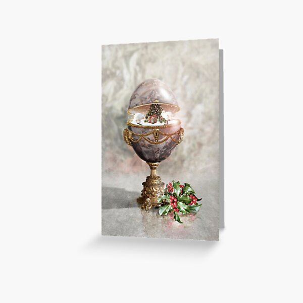 Have a Faberge Christmas Greeting Card