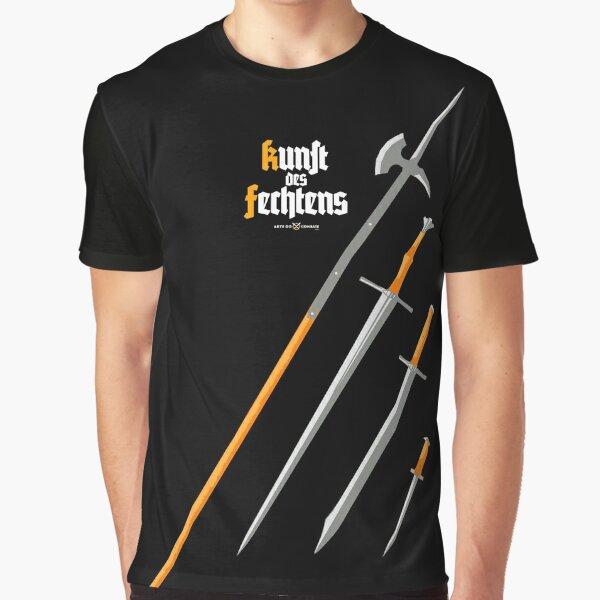 Kunst des Fechtens / Glefen, Sper, Swert vnde Messer Graphic T-Shirt