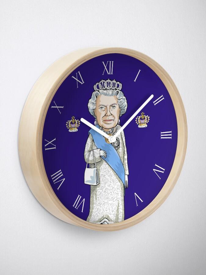 Alternate view of Queen Elizabeth II Clock