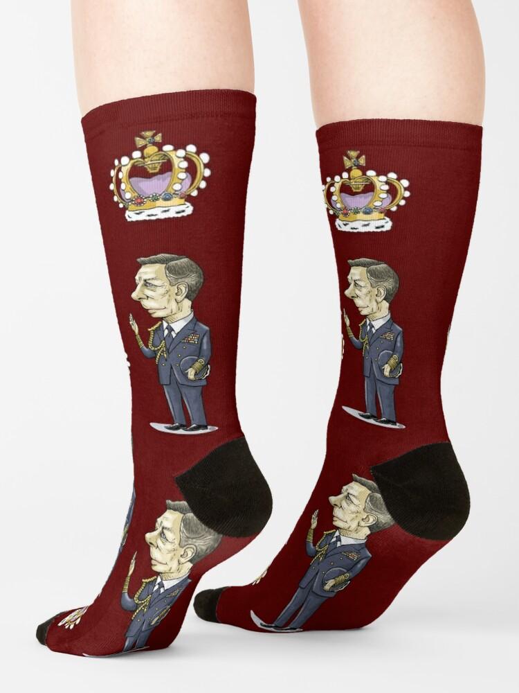 Alternate view of King George VI Socks