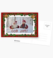 Doily - Christmas motive Postcards