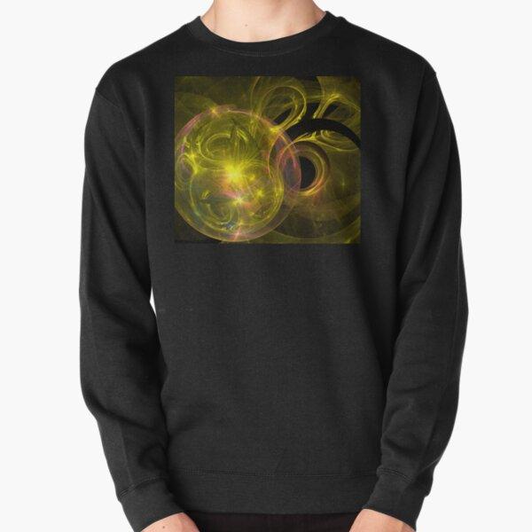 Gold Glass Galaxy Pullover Sweatshirt