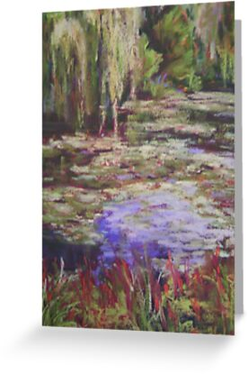 Monets Garden by Terri Maddock
