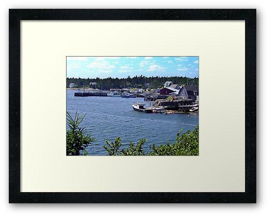 Bush Island-Nova Scotia by George Cousins