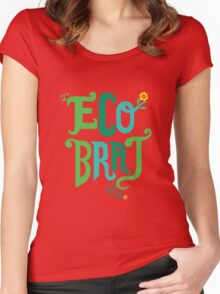 Eco Brat Women's Fitted Scoop T-Shirt