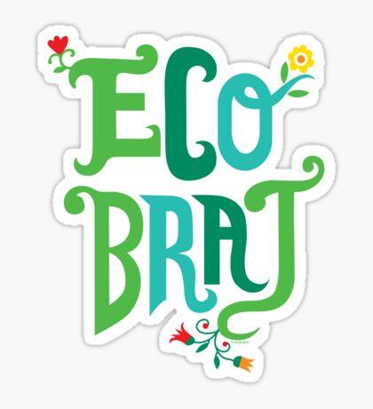 Eco Brat Sticker