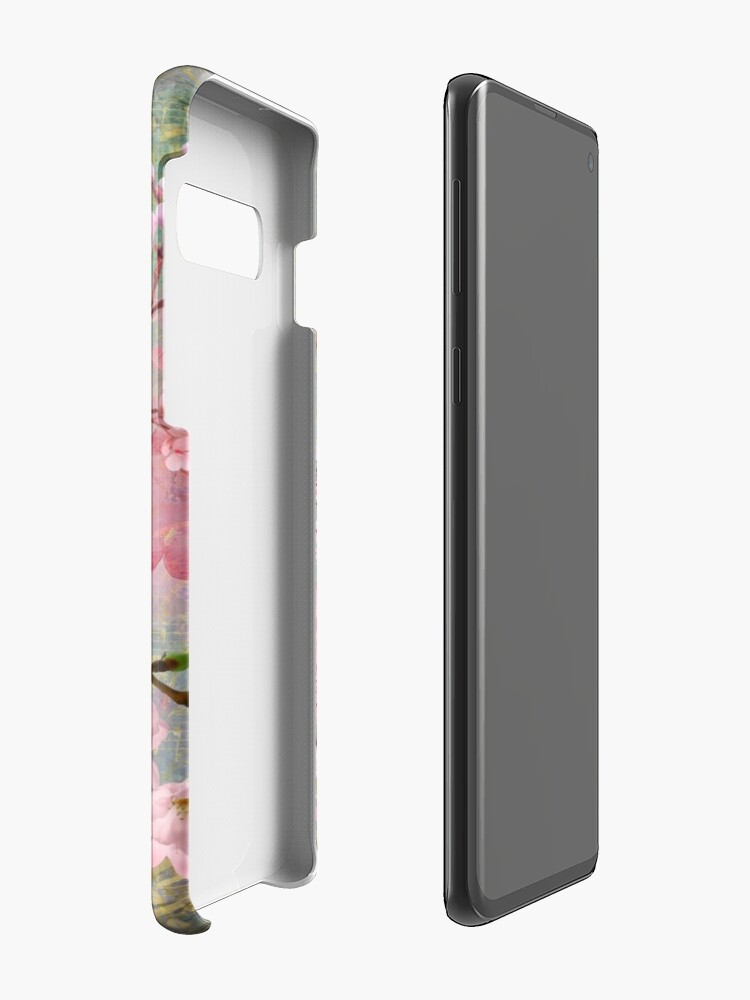 Alternate view of Harmony Cherry Blossom Butterfly Case & Skin for Samsung Galaxy