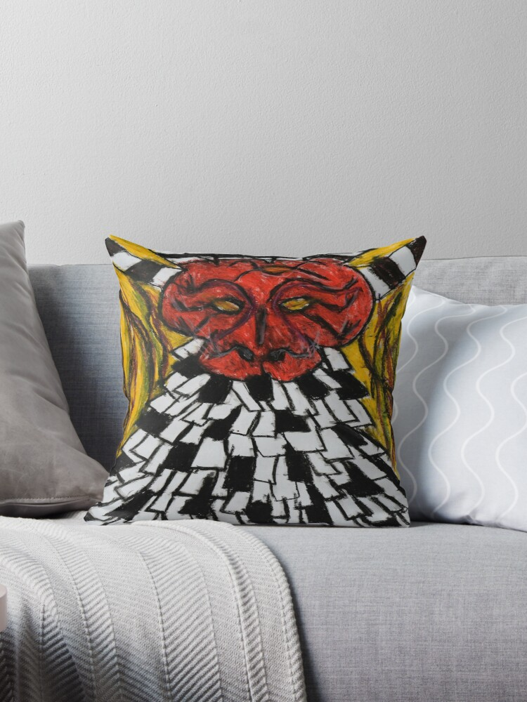 malevial maker throw pillows by lordmasque redbubble