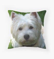Groomers bring such joy! Throw Pillow