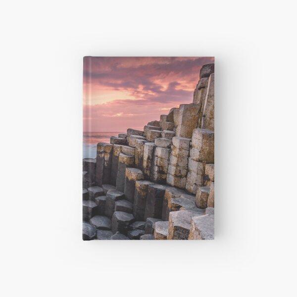 Giants Causeway Photo Ireland Landscape Photography Ocean Sunset Hardcover Journal