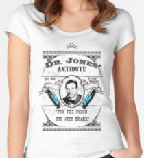 Dr. Jones' Antidote- Indiana Jones Women's Fitted Scoop T-Shirt