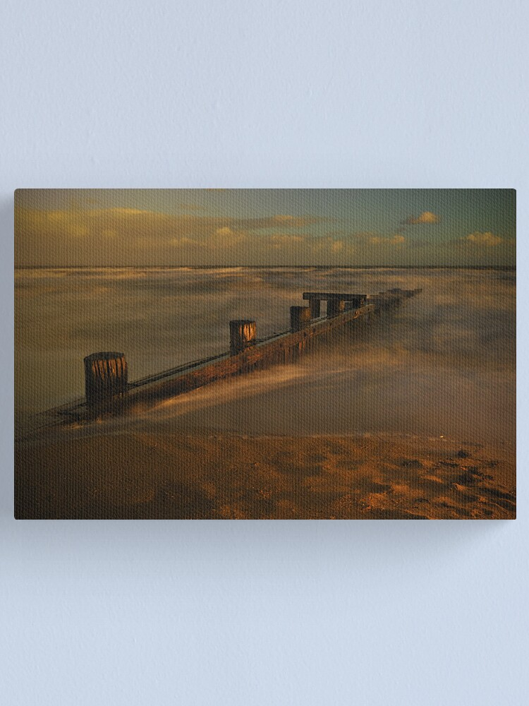 Alternate view of WinterTwilight Canvas Print