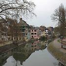 Strasbourg Canal by Danika & Scott Bennett-McLeish