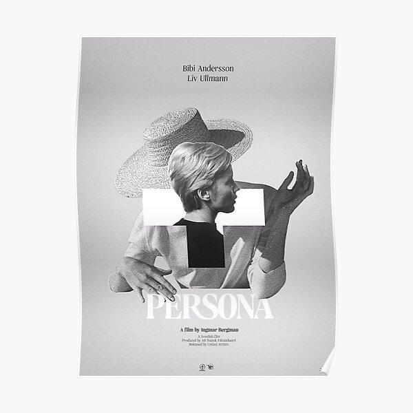 Persona (1966) Ingmar Bergman Poster Design Poster