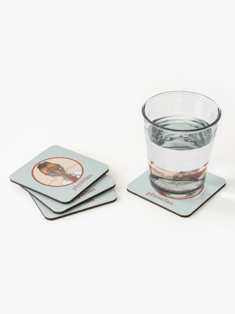 Alternate view of Physician  Coasters (Set of 4)
