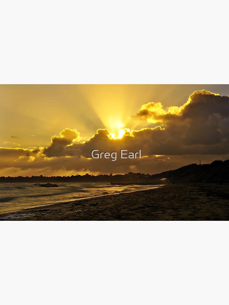 Winter Sunset by GregEarl