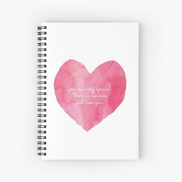 You Are Very Special  Spiral Notebook