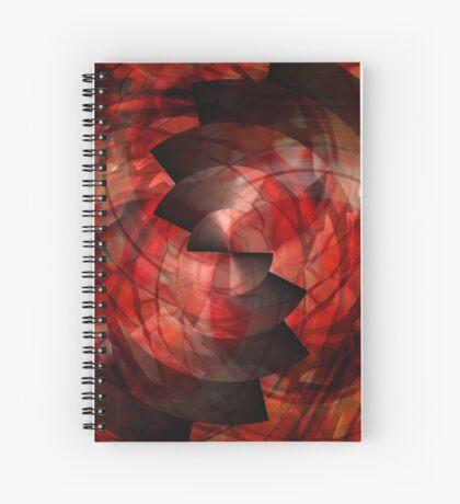Abstractdalica Spiral Notebook