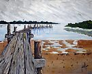 Crooked Pier by Jim Phillips