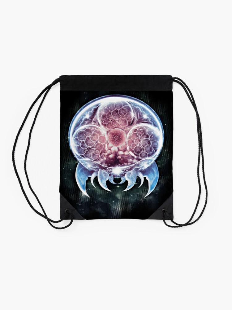 Alternate view of The Epic Organism  Drawstring Bag