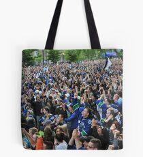 Canucks Victory Tote Bag