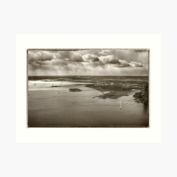 New York Harbor Art Print