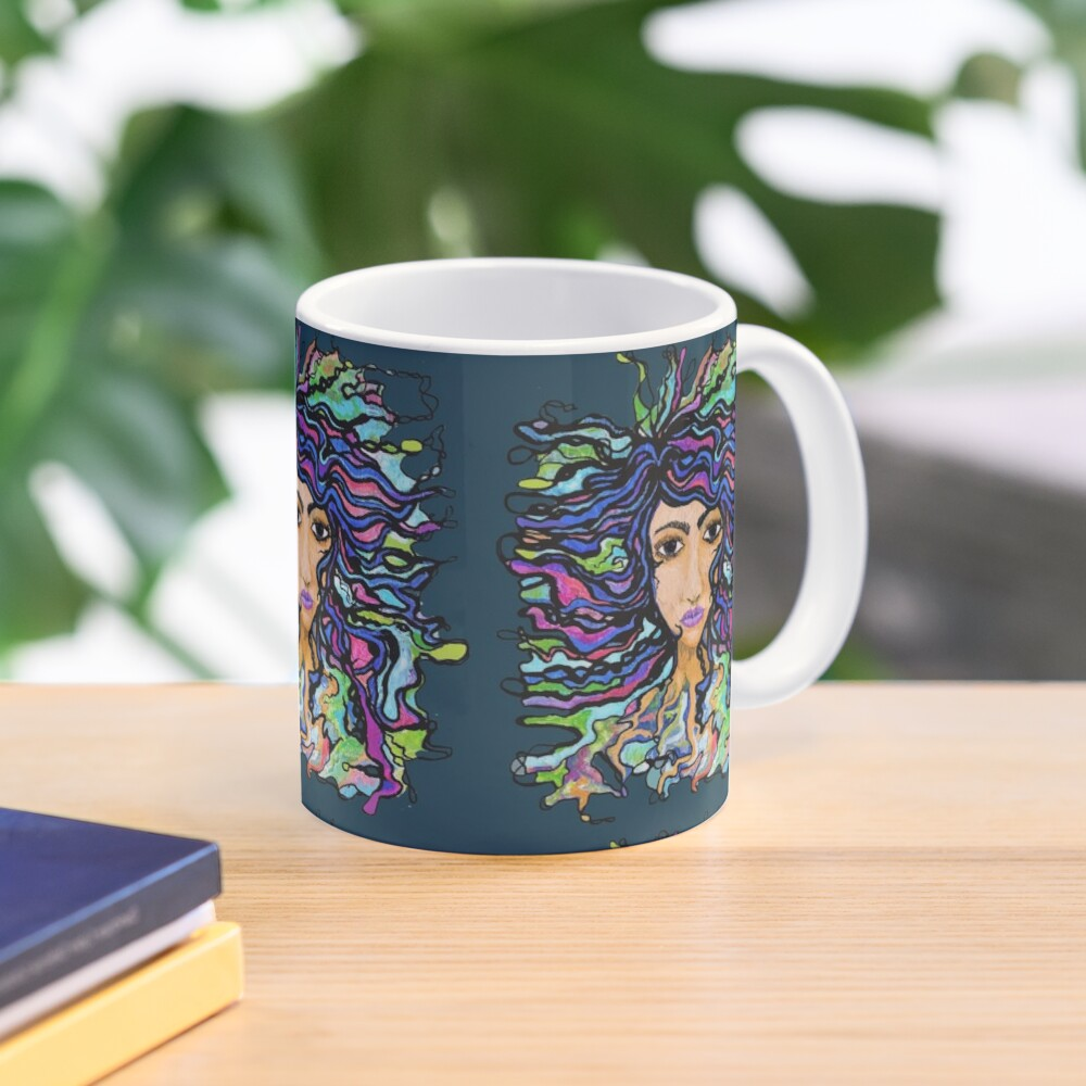 one with the universe NUELLE by eileenaart Mug