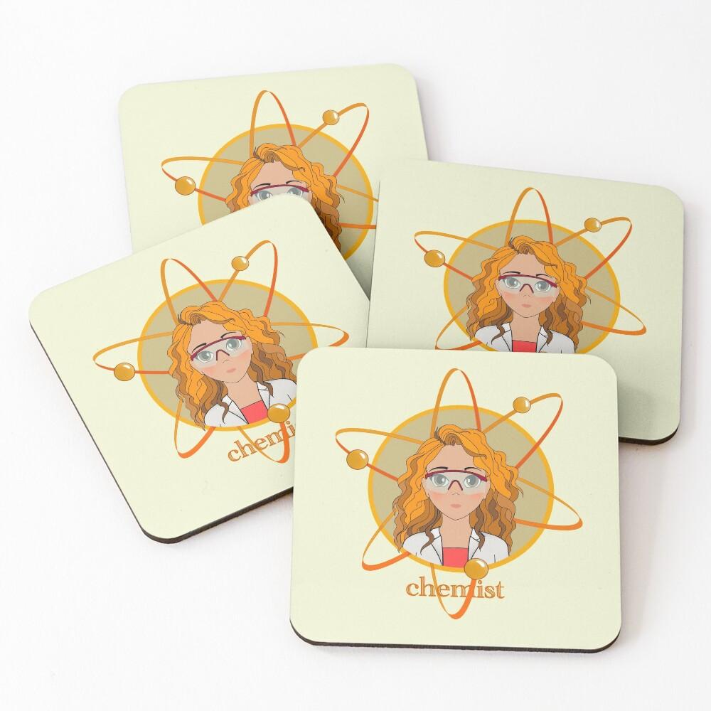 chemist Coasters (Set of 4)