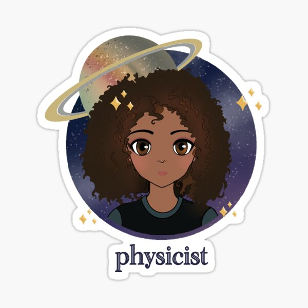 physicist Sticker