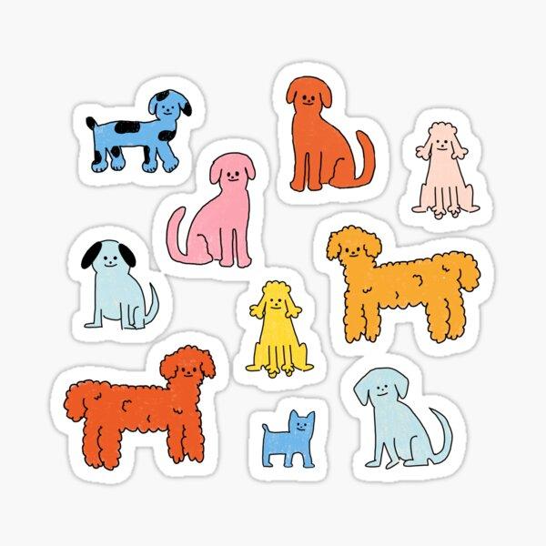 Pup Rally - The Peach Fuzz Sticker