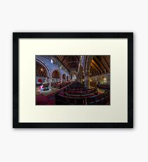 Watching Angels Framed Print