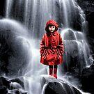 Waterfall Rain Coat by Loveday Funck