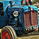 Old Blue Tractor by Julesrules